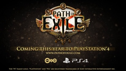 Path of Exile - PlayStation 4 Release Trailer