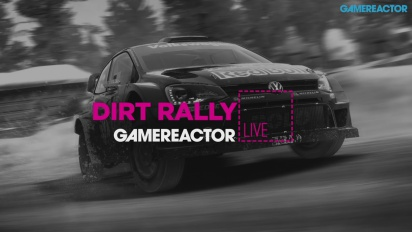 GRTV Live: Dirt Rally med Logitech Racing Wheel