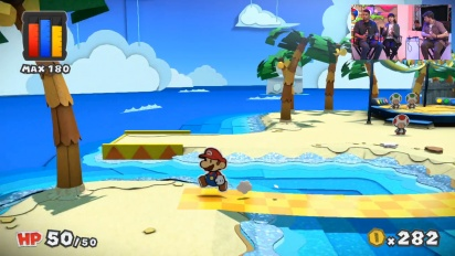Paper Mario: Color Splash - Nintendo E3 2016 Demonstration