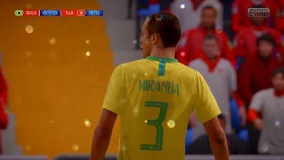 FIFA World Cup 2018 - Brasil vs Sveits