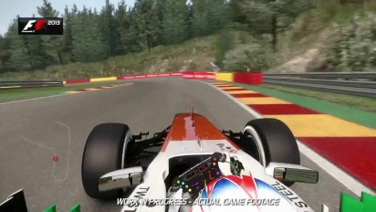 F1 2013 - Spa Francorchamps Hotlap