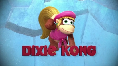 Donkey Kong Country Returns: Tropical Freeze - Dixie Kong Trailer