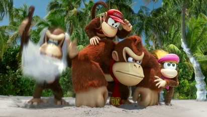 Donkey Kong Country: Tropical Freeze - Brian Blessed TV Ad