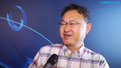 Vi møtte Shuhei Yoshida på E3