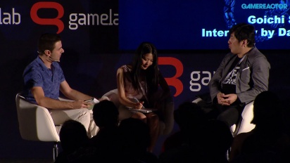 Paneldebatt - Gamelab 2015 - Suda51: Grass-Hopping from Punk to Business