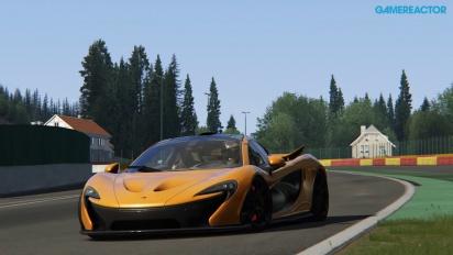 Gameplay: Assetto Corsa - McLaren P1, Spa Francorchamps (PS4 Alpha Build)