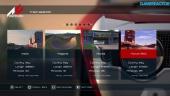 Assetto Corsa til PS4: En titt på menysystemet