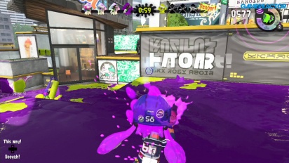 Vi spiller Splatoon 2