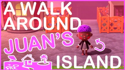 Animal Crossing: New Horizons - A commented tour around Juan's island