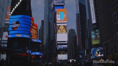 Angry Birds - Angry Birds take over Times Square on Black Friday