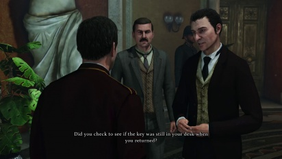 Sherlock Holmes: Crimes & Punishments - Art of Interrogation Trailer