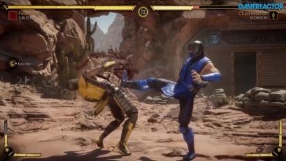 Mortal Kombat 11 - Sub-Zero, Scorpion, and Sonya Gameplay