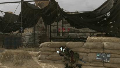 Metal Gear Solid V: The Phantom Pain - Alternate E3 2015 Demo