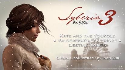 Syberia 3 - A Glimpse of Inon Zur's Soundtrack