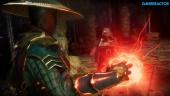 Mortal Kombat 11 - Raiden, Baraka, and Skarlet Gameplay