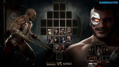 Mortal Kombat 11 - Baraka vs Kano Gameplay