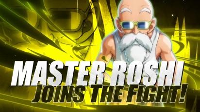 Dragon Ball FighterZ - Master Roshi Launch Trailer