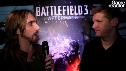 Battlefield 3: Aftermath-intervju