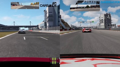Sammenligning av Forza Motorsport 7, Project Cars 2 og Forza 6