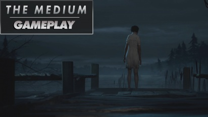 The Medium-gameplay