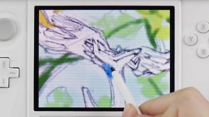 Pokémon Art Academy - How to draw Xerneas Trailer