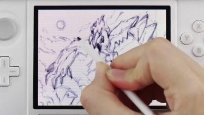 Pokémon Art Academy - How to draw Yveltal Trailer