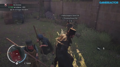 Gameplay: Assassin's Creed: Syndicate - Child Liberation The Strand (final Xbox One build)