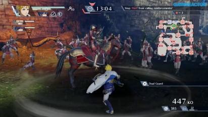 Fire Emblem Warriors - Marth-gameplay