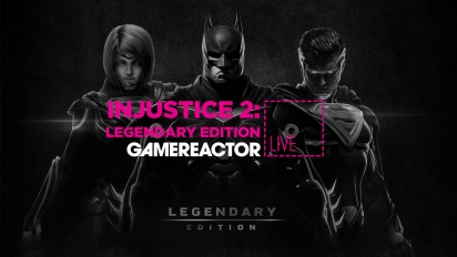 Injustice 2: Legendary Edition - Livestreamreprise i 4K