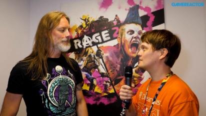 Rage 2 - Magnus Nedfors-intervju
