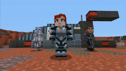 Minecraft - Mass Effect Mash-Up