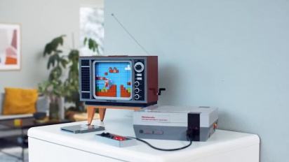 LEGO Nintendo Entertainment System: Now you're playing with power...and bricks