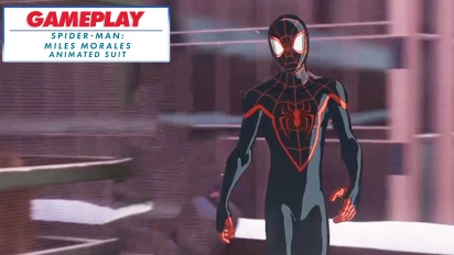 Spider-Man: Miles Morales - Animated suit - Gameplay Montage