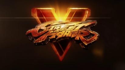 Street Fighter V - Filmatisk historietrailer