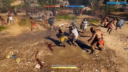 Assassin's Creed Odyssey - Megaris Conquest Battle-gameplay