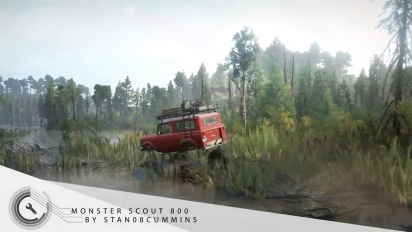 SnowRunner - Mods Introduction Trailer