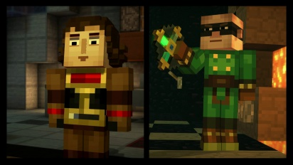 Minecraft: Story Mode - Episode Two & Retail Launch Trailer