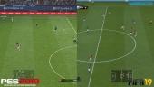 FIFA 19 vs PES 2019 - Full-HD Graphics Comparison
