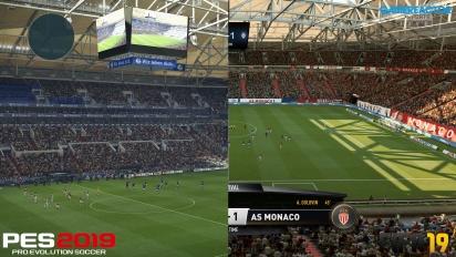 FIFA 19 vs PES 2019 - 4K Graphics Comparison