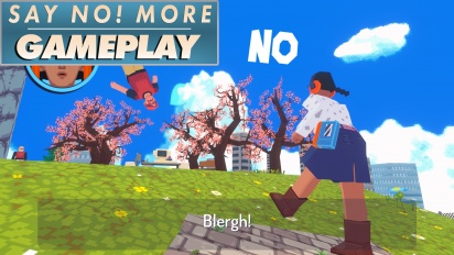 Say No! More - Gameplay