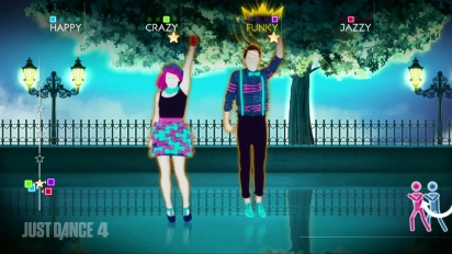 Just Dance 4 - One Direction - One Thing DLC Gameplay Trailer