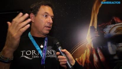 Torment: Tides of Numenera - Brian Fargo-intervju