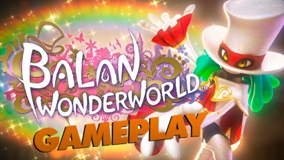 Balan Wonderworld-gameplay