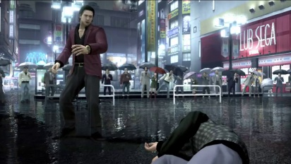 Yakuza 4 - Battle Trailer