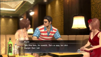 Yakuza: Dead Souls - What Not To Say To A Hostess Trailer