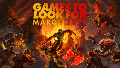 Games to Look For - Mars 2020