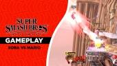 Super Smash Bros. Ultimate - Sora vs Mario Gameplay