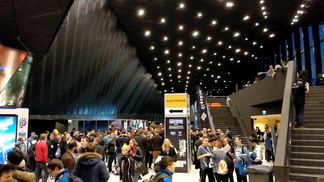 IEM Katowice 2018 - at the hall entrance